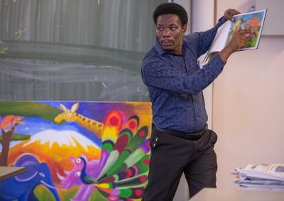 John Kilaka, Kinderbuchautor, Tinga-Tinga-Maler