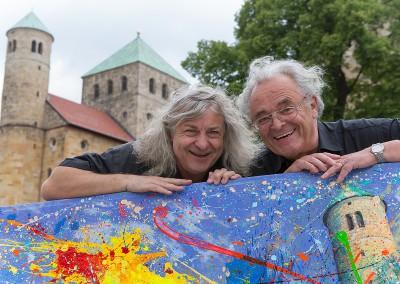 Burkart Aickele, Tilo Müller-Heidelberg - Künstler